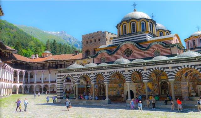 Rila Monastery (60 min.) <BR> (get there)